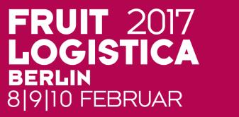 Visit us at Fruit Logistica - Messe Berlin - HALLE 2.2 - STAND B.02